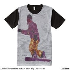 Cool Snow-boarder 2 All Over Print Shirt