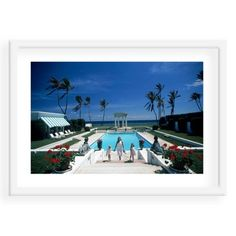 Check out this item at One Kings Lane! Slim Aarons, In Palm Beach