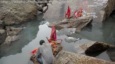 Parvati Kund the water here is at freezing level