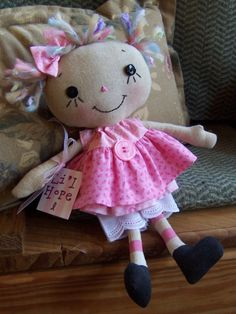 Li'l Raggedy Hope by Whimsey Co on Etsy