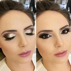 Beauty Makeup Hacks Ideas Wedding Makeup Looks for Women Makeup Tips Prom M. Bridal Hair And Makeup, Prom Makeup, Wedding Hair And Makeup, Hair Makeup, Bridesmaid Makeup, Dramatic Bridal Makeup, Hair Wedding, Bridal Beauty, Makeup Goals