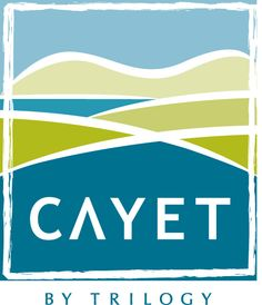 Cayet Logo and Brand development for a real estate project on North Vancouver Island. Through B3 Communications