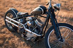 1959 HARLEY PANHEAD CUSTOM Wrecked Metals in Boise