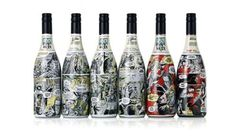 Holy Water Wine Labels Feature Personalized Stories #promotional trendhunter.com