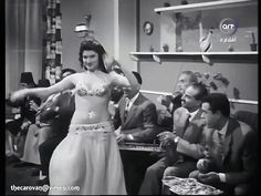 The dancer in this clip is Nagwa Fouad performing in a scene from the Egyptian film 'Ghaltet Habibi ' (My Sweetheart's Mistake  غلطة حبيبي) a 1958…