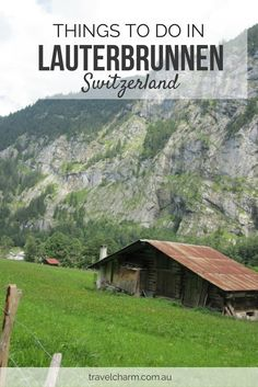 Lauterbrunnen in Switzerland is the valley of 72 waterfalls. Read our guide on what to do when staying in Lauterbrunnen.