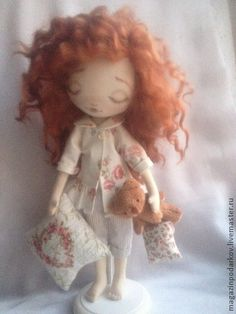 Коллекционные куклы ручной работы. Ярмарка Мастеров - ручная работа Кукла Сонечка. Handmade.
