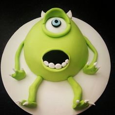 Monsters inc Mikey cake - For all your cake decorating supplies, please visit craftcompany.co.uk
