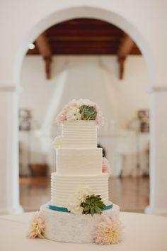 Amy & Patrick ~ Casa Romantica,   Featured @Style Me Pretty  Planning & Design- A Good Affair, www.agoodaffair.com  Cake- Simply Sweet Cakery   Brandon Kidd Photography
