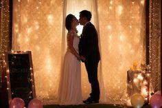 Pre-Wedding; engagement photography; night scene