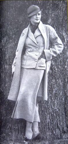 "THE Delineator Magazine March 1934 Fashion Women's News"""