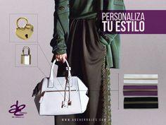 Atrévete, y personaliza las carteras a tu estilo. Lo mejor en marroquinería lo encuentras en ABC HERRAJES