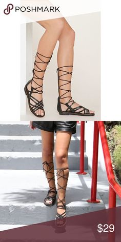 33df64a2bde MIA heritage  Lenora  gladiator sandals BRAND NEW Amazing brand new leather  gladiators! Awesome