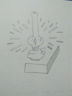 Candle Draw, Candles, To Draw, Sketches, Candy, Painting, Candle Sticks, Tekenen, Drawing