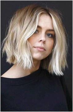 Blonde Ombre Short Hair, Brown To Blonde Ombre, Bright Blonde, Blonde Color, Blonde Highlights Short Hair, Color Highlights, White Blonde, Ombre Hair Bob, Baylage Short Hair