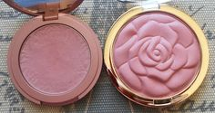 Drugstore Dupe of Tarte Amazonian Clay 12-Hour Blush in Exposed Milani rose blush