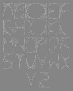 Ludd - Curvestitch Typography