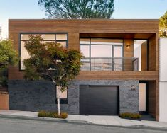 Mixed Materials - Hill House by Lara Construction