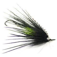 Signature Mini Intruder - Green Butt.  I'm of the same mind as April Vokey.  Hide the dumbbell weight within the body material and use jungle cock eyes to clean up the look of the fly