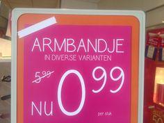 Armbandjes te koop! Nu voor maar €0.99!!!