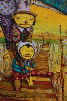 Mural - Os Gemeos - NYC | Flickr - Photo Sharing!
