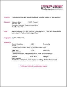 simple clean resume design with clear section headings resumes