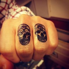 #First_ma_tattoos #korea #skull