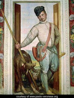 Self Portrait in Hunting Costume, 1562 - Paolo Veronese (Caliari) - www.paolo-veronese.org