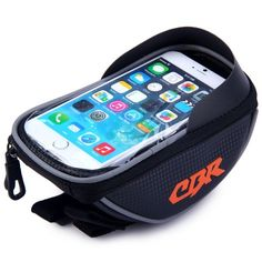 11.08$  Buy here - http://di9or.justgood.pw/go.php?t=139240601 - CBR Water Resistant Bike Handlebar Mounted Touch Screen Bag for 5.5 Inches Phones Like iPhone HUAWEI SAMSUNG 11.08$