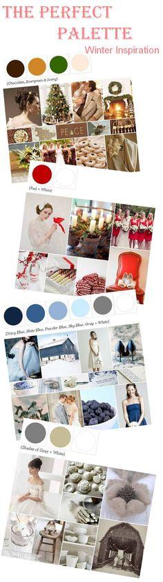 Winter Palettes ☛ http://su.pr/1Jwhe3  Happy Browsing :)