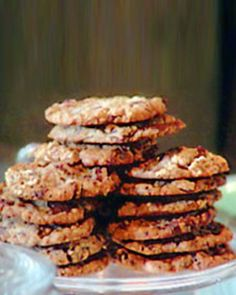 My all-time favorite cookie recipe - Oatmeal Toffee Cookies by Martha Stewart