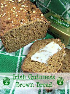 Olla-Podrida: Irish Guinness Brown Bread Source by mrsVmullane soda bread Irish Brown Bread, Irish Bread, Irish Soda Bread Recipe, Irish Baked Beans Recipe, Sour Recipe, Hp Sauce, Guiness Bread, Guinness Recipes, Bread Recipes