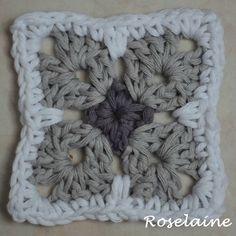 Roselaine #springlanecal #dropsalong #dropsfan #dropsyarn #dropsparis #dropsdesign #granny #crochet #häkeln #haken #virka #hekle #fleur #flower #blume