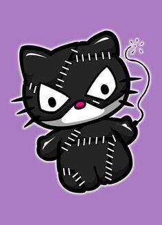 cat woman kitty