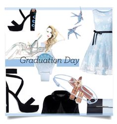"""""""Congrats, Grad: Graduation Day Style"""" by kari-c ❤ liked on Polyvore featuring Dorothy Perkins, Lacoste, GALA, Topshop, TinyOm and Graduation"""