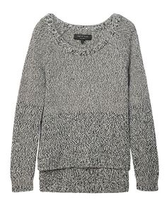 rag & bone Official Store, Claire Pullover, charcoal fl, Womens : Ready to Wear : Sweaters : Wool, W2356828C
