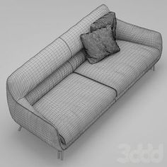 3d модели: Диваны - Диван и кресло Esedra by Prospettive VENICE Sofa
