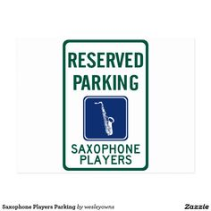 Saxophone Players Parking