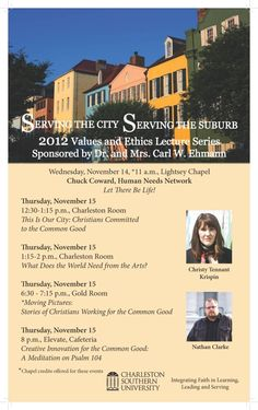 "Algumwood's Christy Tennant Krispin was a featured speaker at ""Serving the City, Serving the Suburb,"" 