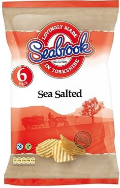 Seabrook crinkle cut crisps    Sea Salted    6pk    Tesco price £1.70    BB to follow | Shop this product here: http://spreesy.com/DiscountFoodsofLincoln/316 | Shop all of our products at http://spreesy.com/DiscountFoodsofLincoln    | Pinterest selling powered by Spreesy.com