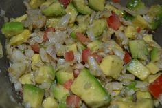 Puerto Rican Gazpacho (Salt Cod Salad)