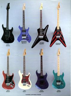 Kramer Vintage Guitars.....a blast from the past  mm/