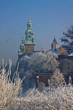 Winter in Kraków, Poland
