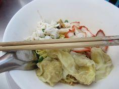 Bangkok, wonton soup