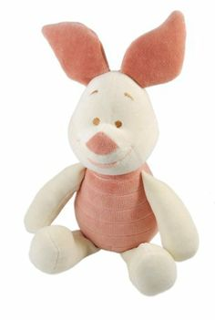 Disney Piglet Certified Organic Plush by Greenpoint Brands LLC. $23.95. From the Manufacturer                My Natural Disney organic cotton plush characters are soft and cuddly, safely made with  non-toxic coloring process. Filled with recycled fiber, each toy promotes conservation of our planet.                                    Product Description                New from miYim, beautifully made organic Disney plush toys are the ultimate in safely and softness for baby....