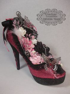 Couture Creations: Anniversary Shoe by Tracey Cooleym