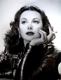 Hedy Lamarr by legendary Hollywood glamour photographer George Hurrell