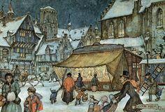 Фотографии средневекового Страсбурга вызывают в моей памяти чудные иллюстрации голландского художника Антона Пика. В таких городах, как Страсбург и…