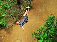 Book now the extreme canopy tour and experience the exhilarating zip-line cables in the Guanacaste jungle of Costa Rica. Soar through the tree tops on the extra long zip lines, rappel and finish off the tour with the Extreme Tarzan Swing! Egg Burrito, Rappelling, Transportation Services, Tree Tops, Tarzan, Health And Safety, Congo, Tour Guide