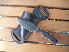 Rustick Knives Great knife but an amazing sheath design!!
